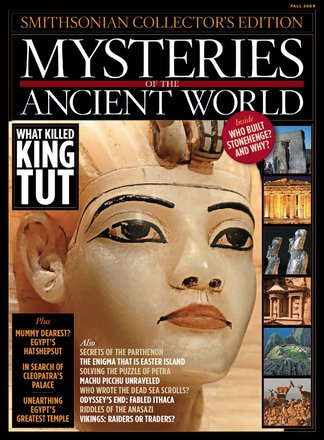 Mysteries of the Ancient World digital cover
