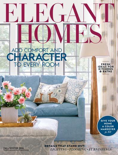 Elegant Homes digital cover