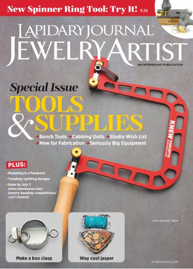 Lapidary Journal Jewelry Artist digital cover