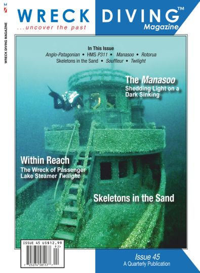 Wreck Diving Magazine digital cover