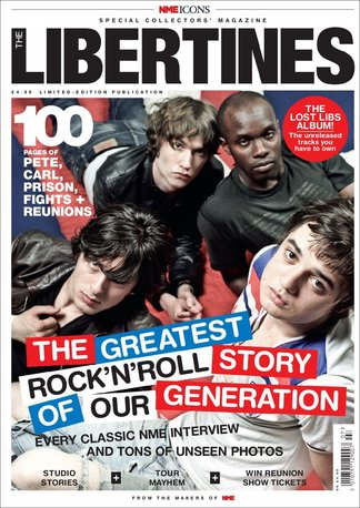NME Icons: The Libertines digital cover