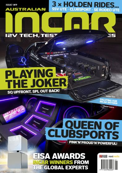 InCar Entertainment digital cover