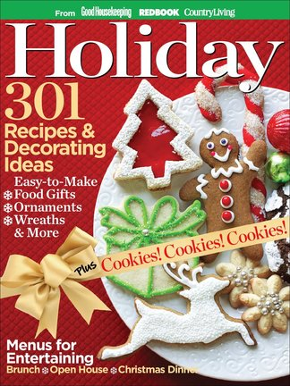 Holiday: 301 Recipes & Decorating Ideas digital cover