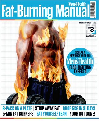 Men's Health Fat-Burning Manual digital cover