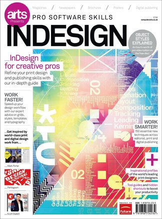 Computer Arts Pro Software Guide: InDesign digital cover