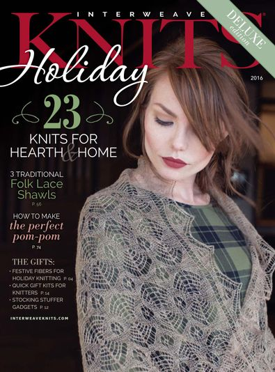 Interweave Knits Holiday Gifts digital cover