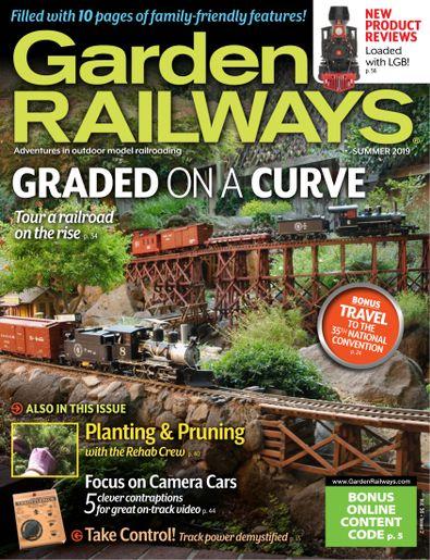 Garden Railways digital cover