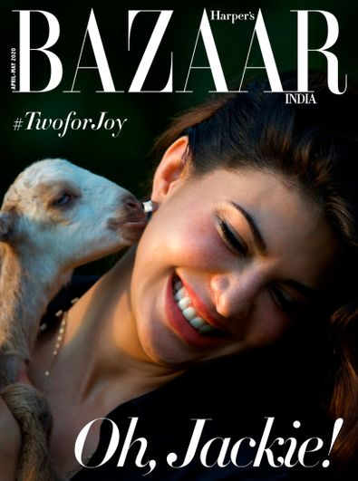 Harper's Bazaar India digital cover