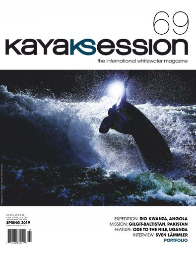 Kayak Session Magazine digital cover