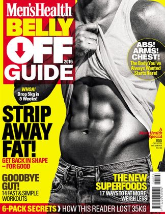 Men's Health Belly Off Guide digital cover