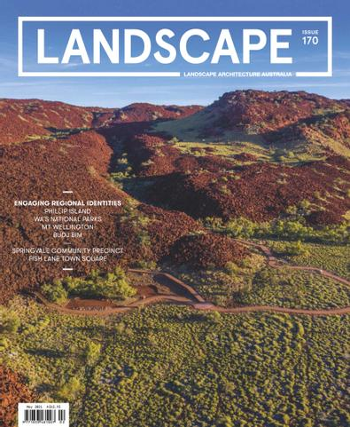 Landscape Architecture Australia digital cover