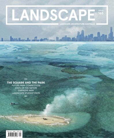 Landscape Architecture Australia digital cover