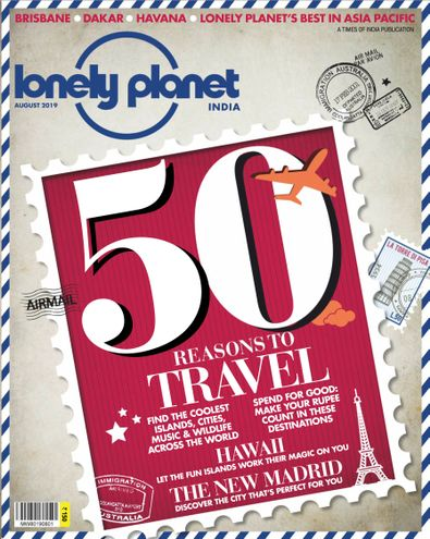Lonely Planet Magazine India digital cover