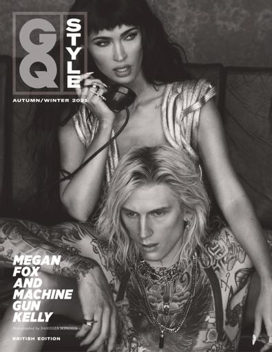GQ Style digital cover