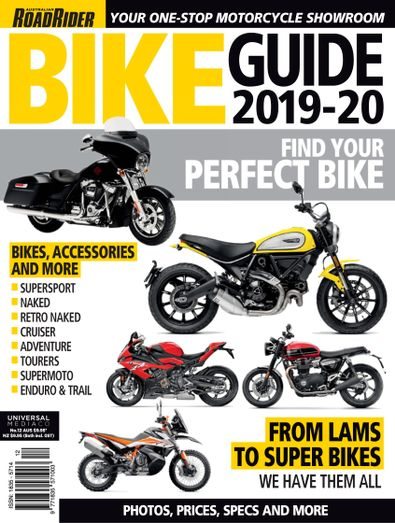 Road Rider Bike Guide digital cover