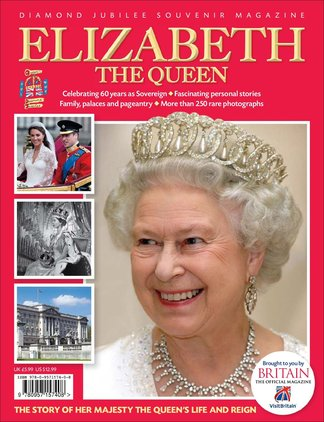 Elizabeth The Queen: Diamond Jubilee Souvenir digital cover