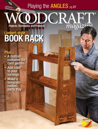 Woodcraft Magazine digital cover