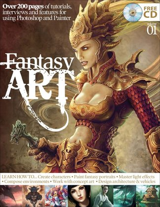 Fantasy Art Vol. 1 digital cover