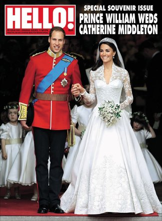 Hello! Magazine Special Issue- ROYAL WEDDING Anniv digital cover