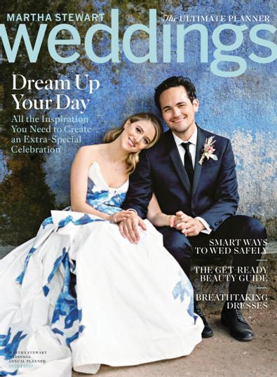 Martha Stewart Weddings:  Real Weddings Special Is digital cover
