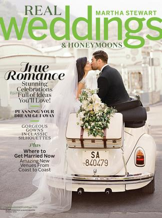 Martha Stewart Weddings:  Real Weddings Special Is digital cover