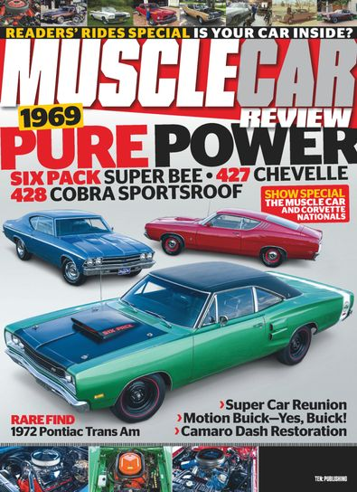 Muscle Car Review digital cover