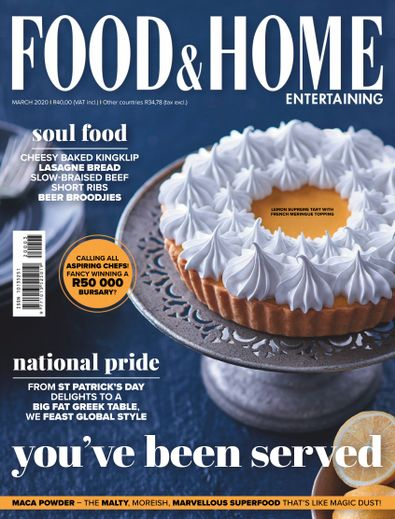 Food & Home Entertaining digital cover