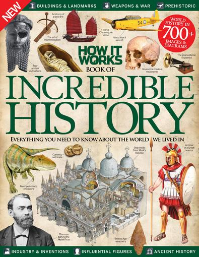 How It Works Book of Incredible History digital cover