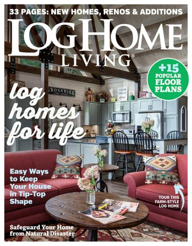 Log Home Living digital cover
