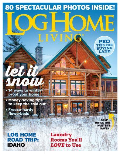Log Home Living digital cover