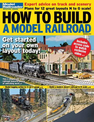 How to Build a Model Railroad digital cover