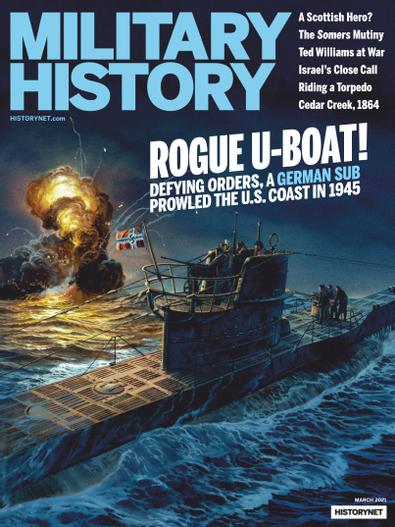 Military History digital cover