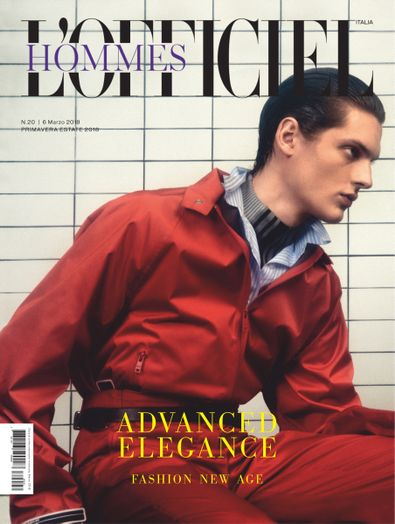 L'Officiel Hommes Italia digital cover