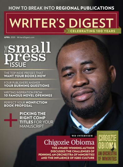 Writer's Digest digital cover