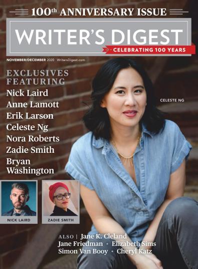 Writer's Digest digital cover