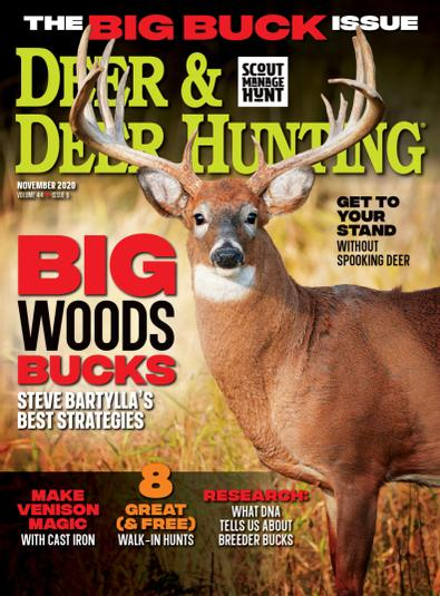 Deer & Deer Hunting digital cover