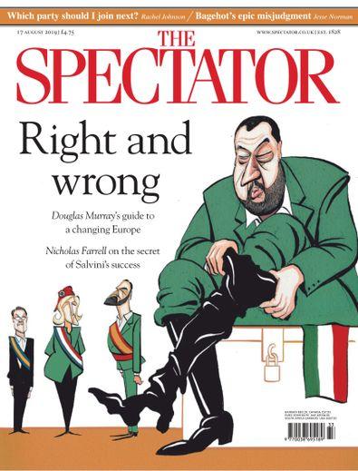 The Spectator digital cover