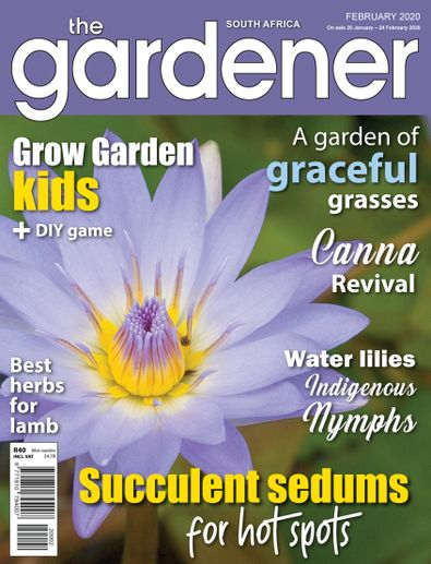 The Gardener Magazine digital cover
