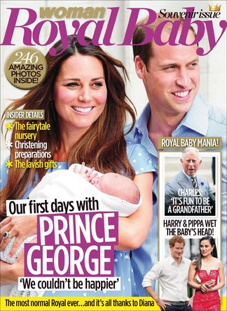 Woman Royal Baby Souvenir issue digital cover