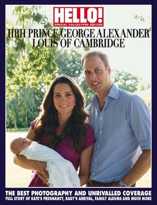 HELLO! Prince George Souvenir Edition digital cover