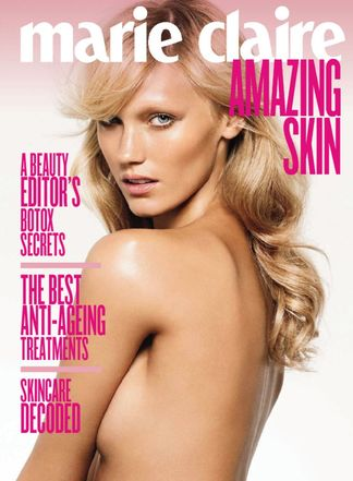 Marie Claire: How To Get Amazing Skin Guide digital cover