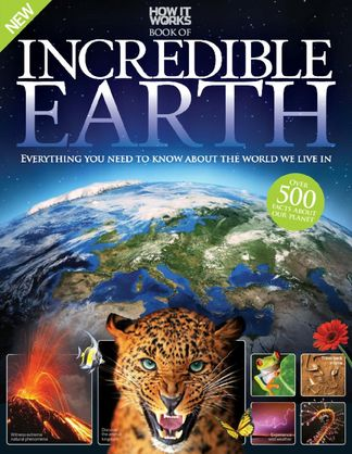 How It Works Book of Incredible Earth digital cover