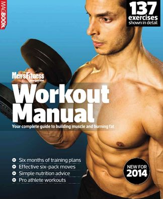Mens Fitness Workout Manual 2014 digital cover