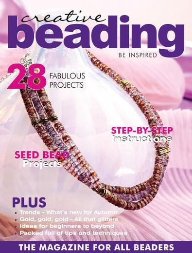 Creative Beading Magazine digital cover