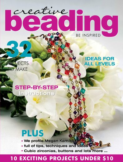 Creative Beading Magazine digital cover