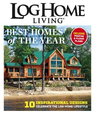 Log Home Living, Best of 2014 digital cover