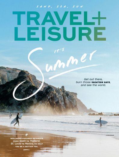 Travel+Leisure digital cover