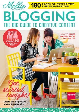 Mollie Makes Blogging digital cover