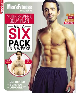 Men's Fitness Get a Six Pack in 8 Weeks digital cover