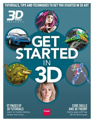 Get Started in 3D digital cover
